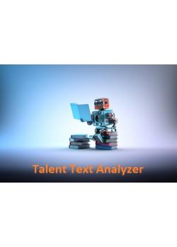 Talent text Analyzer