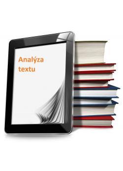 Analýza textu k vydání knihy
